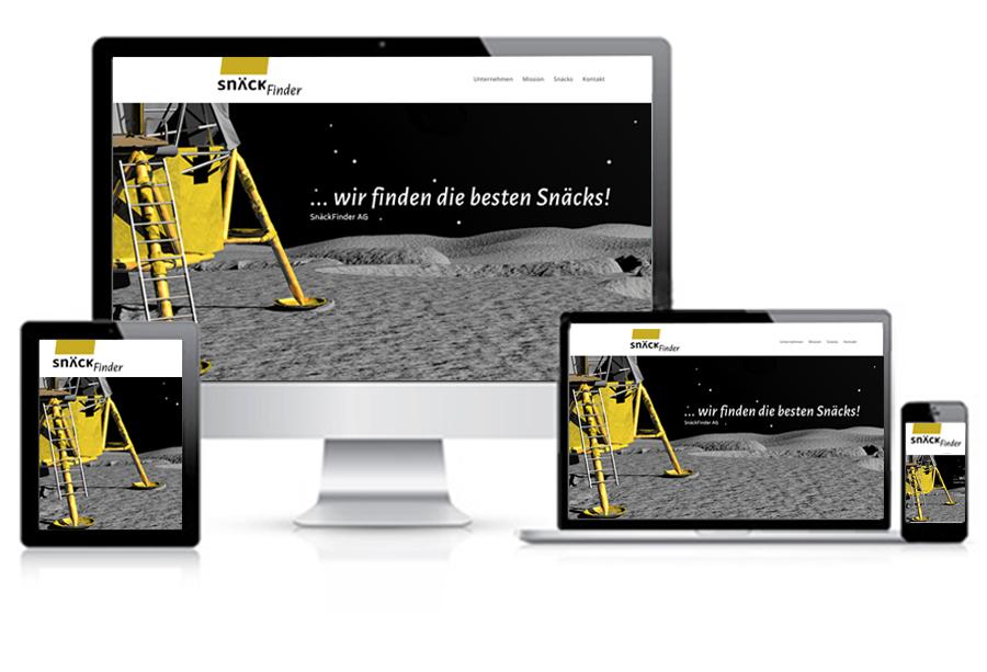 SnäckFinder Referenzbild 3 | laufweite Webdesign & Corporate Design | Raum Zürich