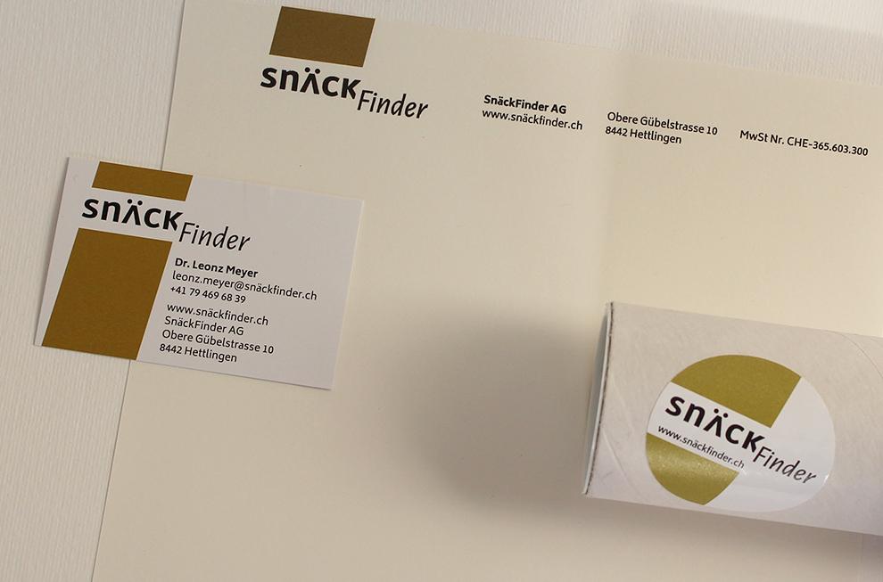 SnäckFinder Referenzbild 2 | laufweite Webdesign & Corporate Design | Raum Zürich